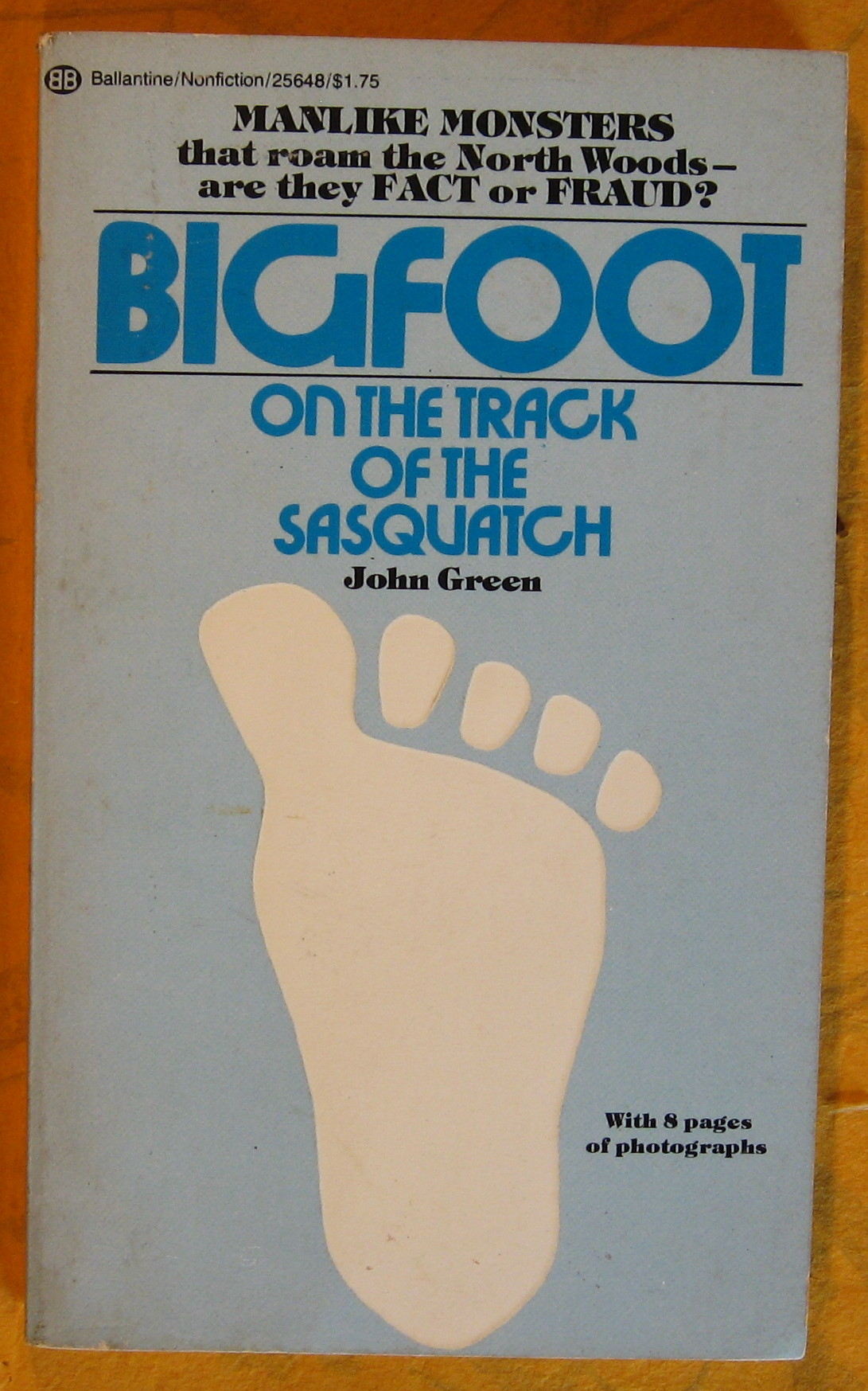 Image for Bigfoot:  On the Track of the Sasquatch