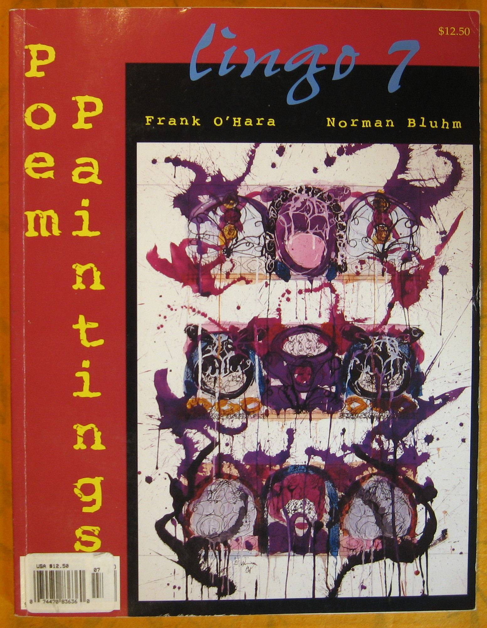Image for Lingo 7:  Poem Paintings, Frank O'Hara, Norman Bluhm