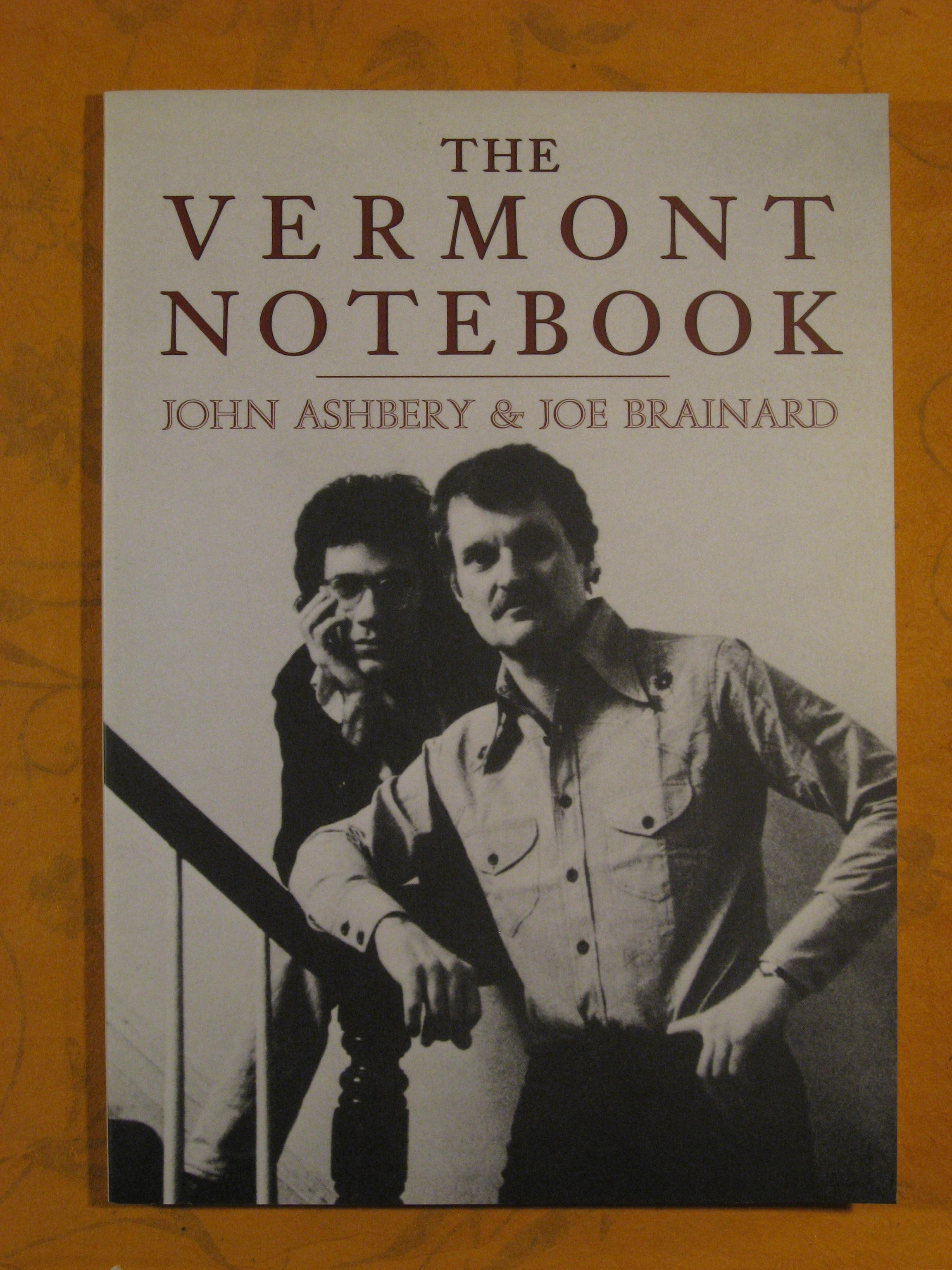 Image for The Vermont Notebook: text by John Ashberry & Art by Joe Brainard