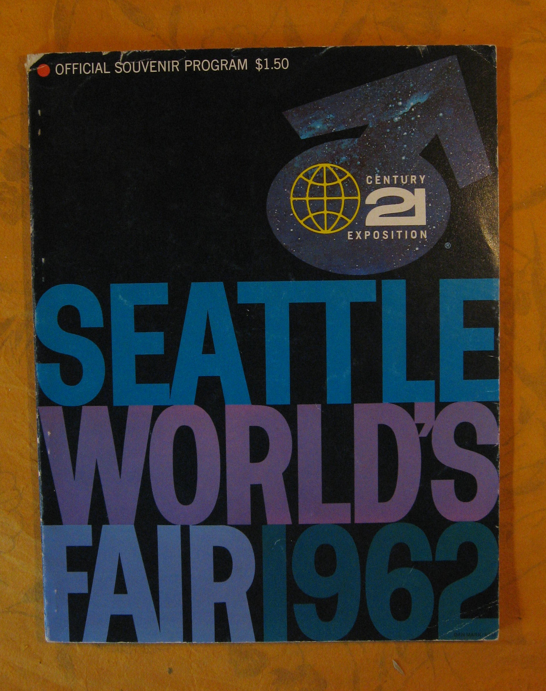 Image for Seattle World's Fair 1962, Century 21 Exposition, Official Souvenir Program