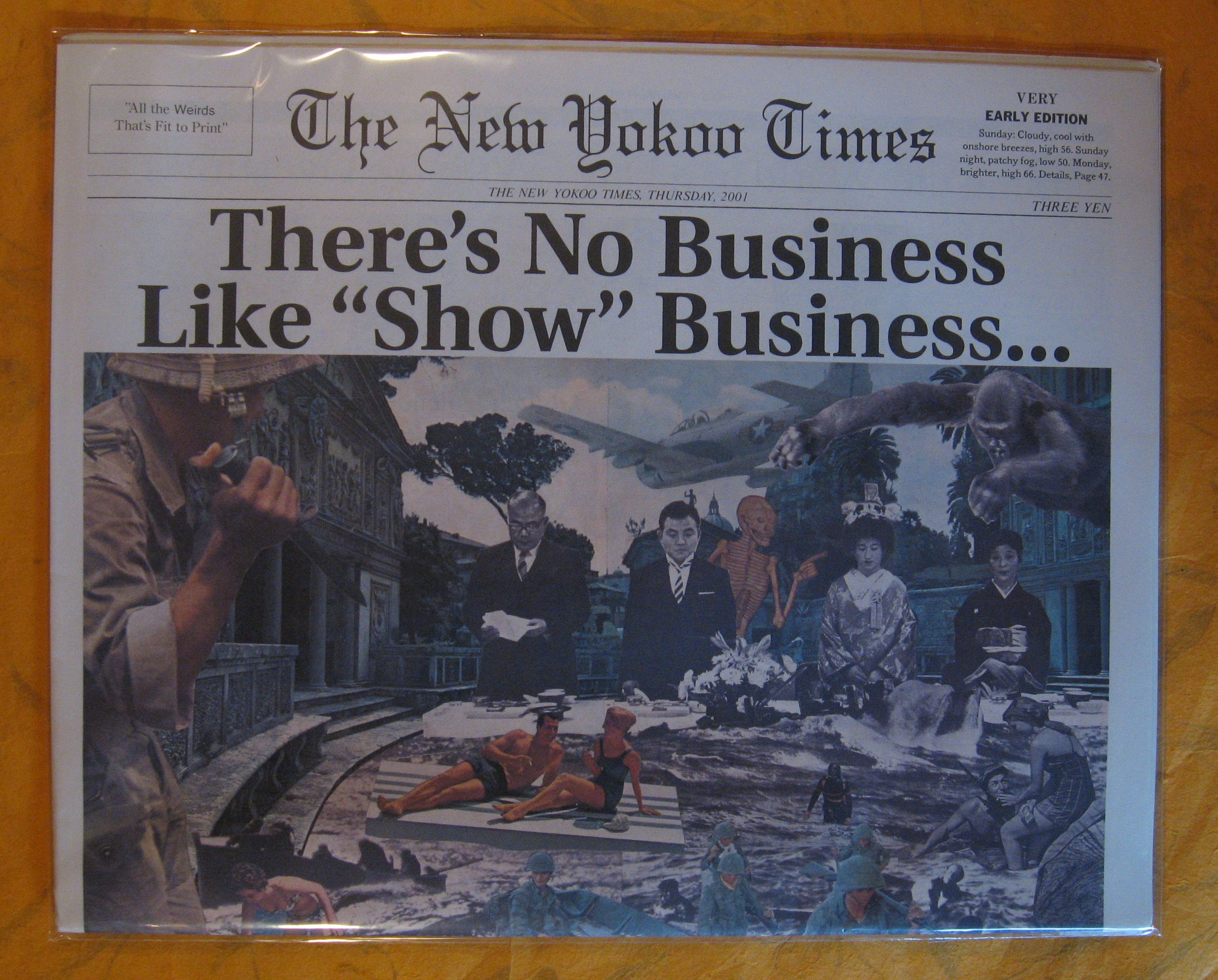 """Image for The New Yokoo Times:  There's No Business Like """"Show"""" Business..."""