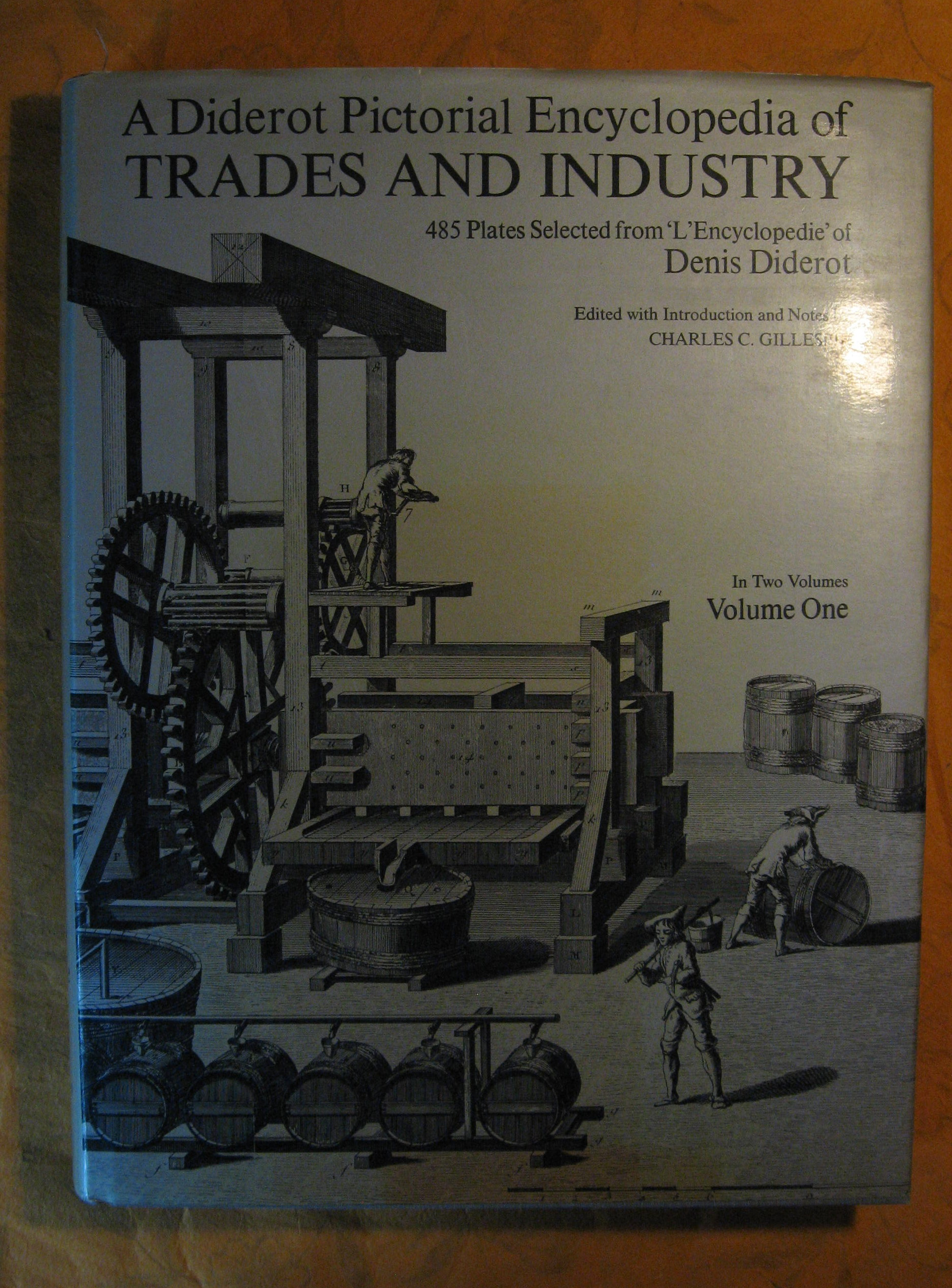 Image for Diderot Pictorial Encyclopedia of Trades and Industry : Vol 1