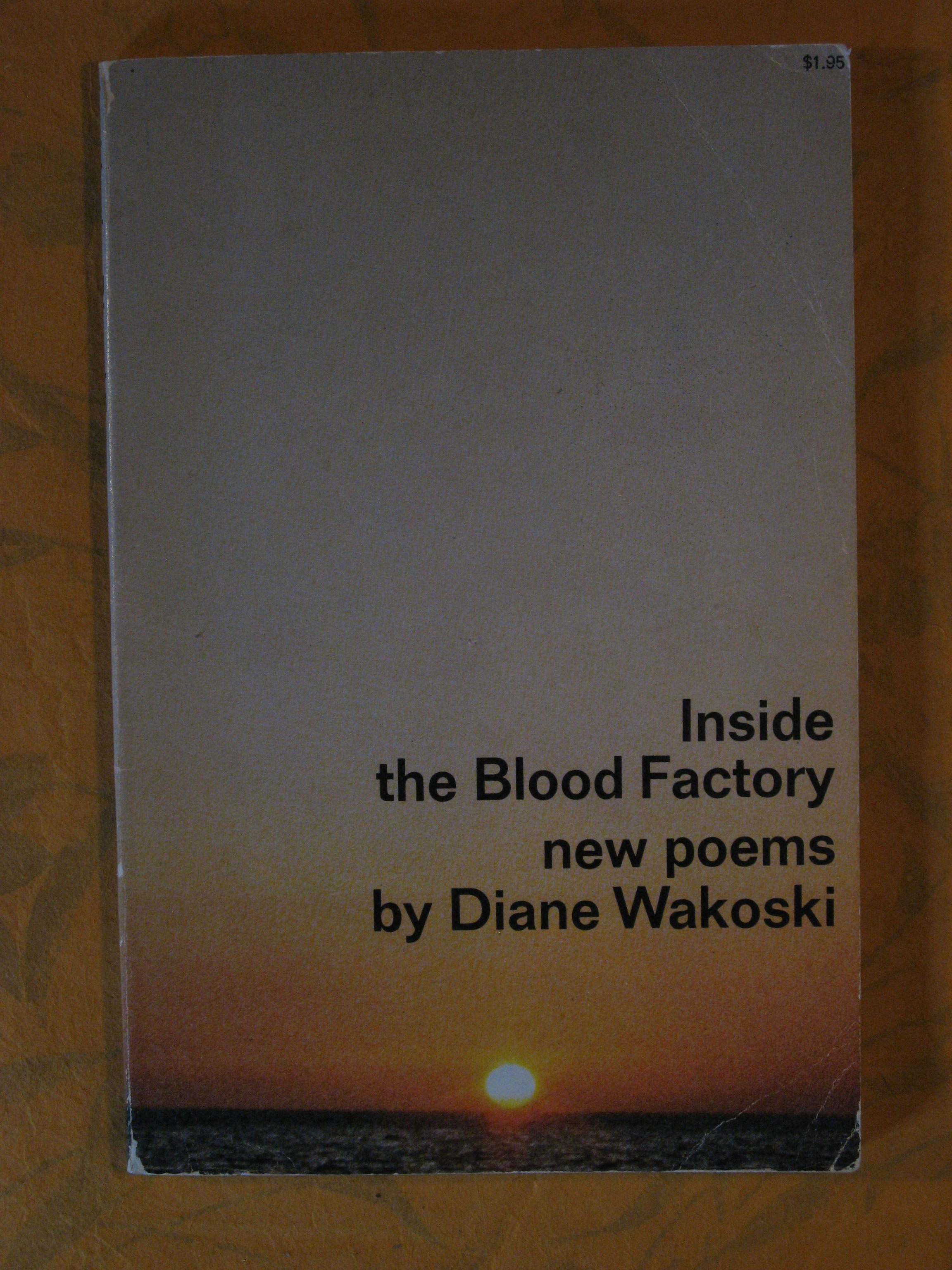 Image for Inside the Blood Factory:  New Poems